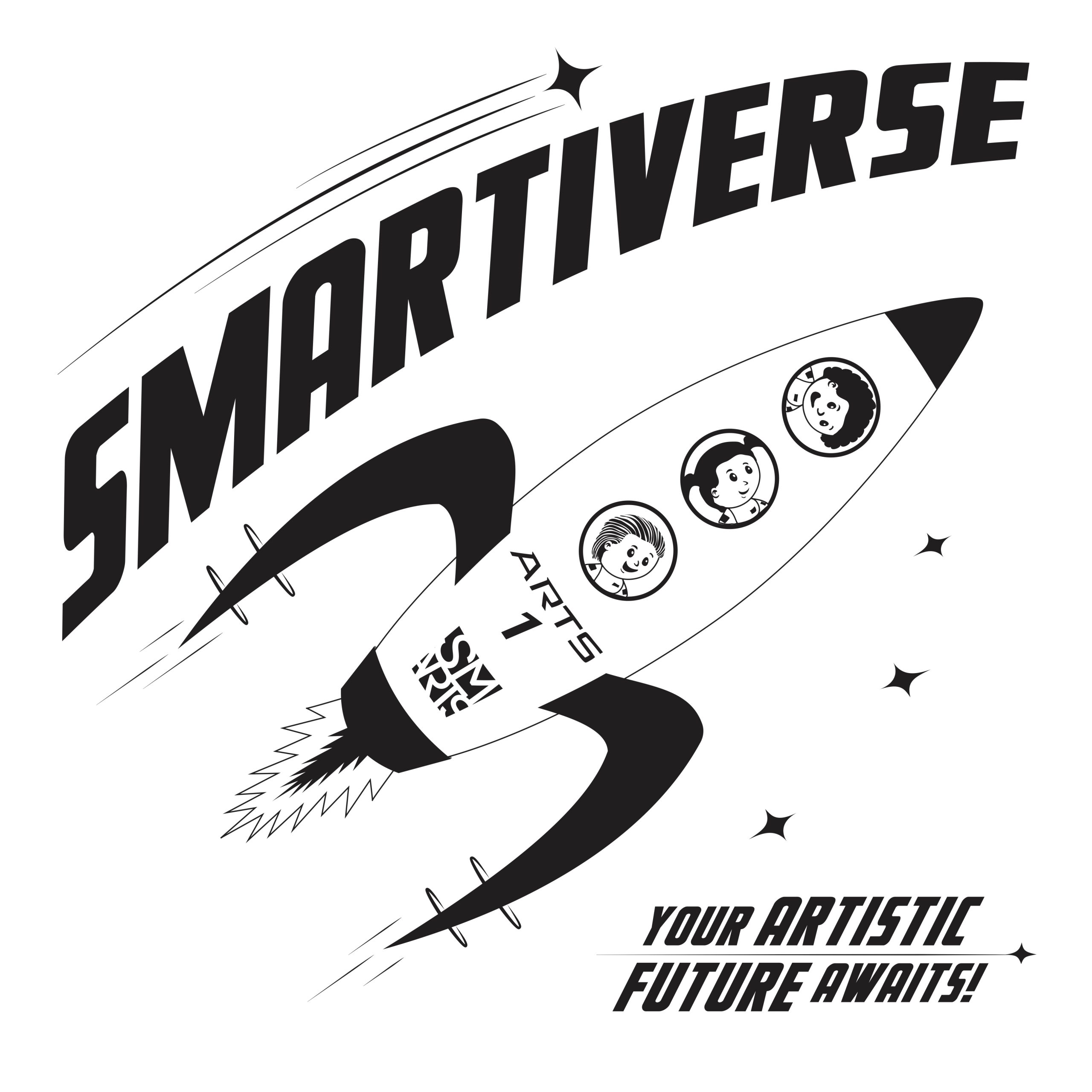 Smartiverse Shirt Design Front - Final Render 022420 01